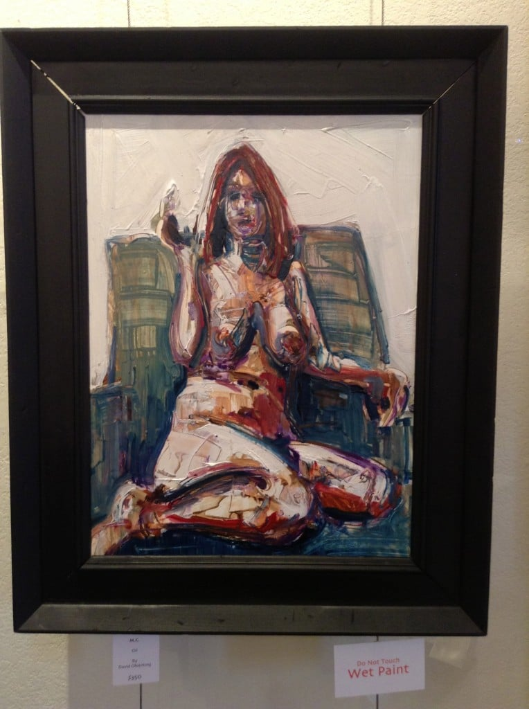 David Ohlerking ... Nude of MC in oil . POW! You have to see this beauty in person!