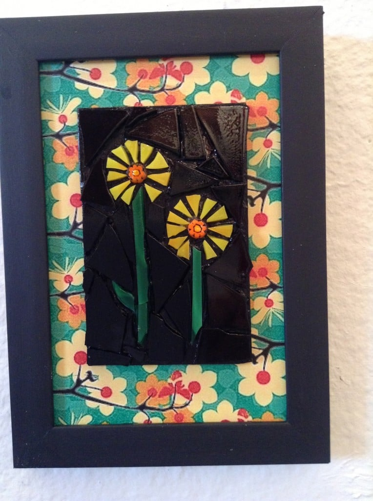 We SOLD so much of Lisa Fields Clark's Mosaic work that see had to bring more in. She is May's Featured Artist at Jana's RedRoom. Come out and see her work ... Spectacular!
