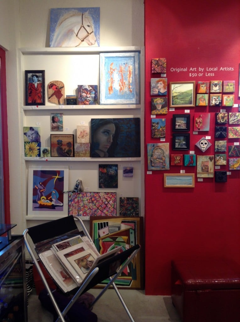 Jana's Redroom offers an amazing selection of affordable small original art.