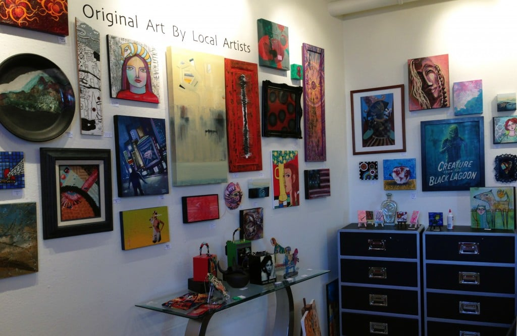Jana's RedRoom is always about Original Art by Local Artists!