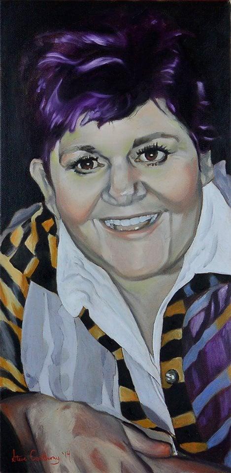 Jana Lynch Painted by Steve Anthony
