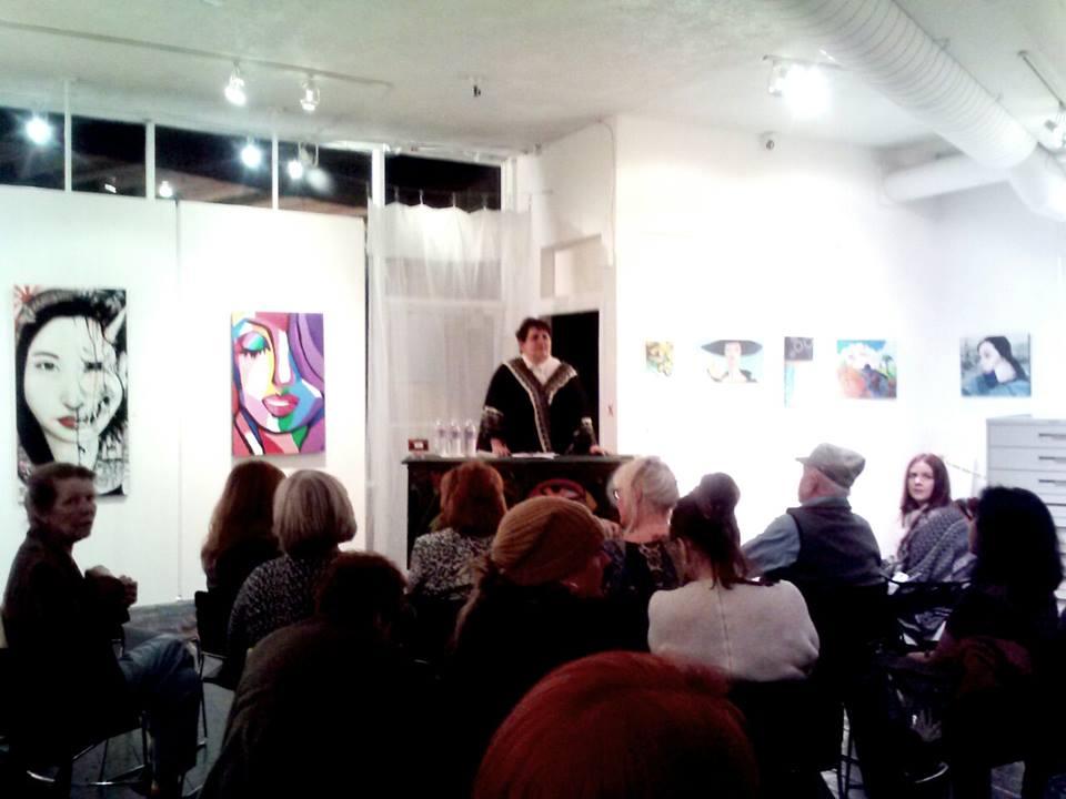 Jana's Artist talk