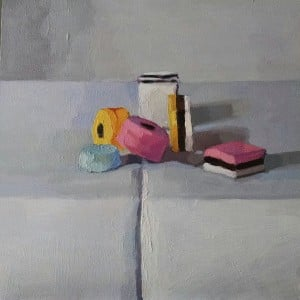 Allsorts in oil By Paula Billups