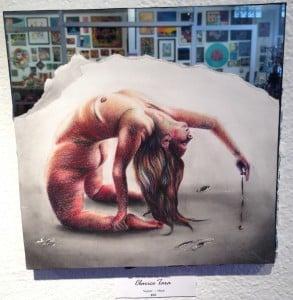 "Clarice Tara, 2015 Elite Artist Original Painting titled ""Sunyata"""