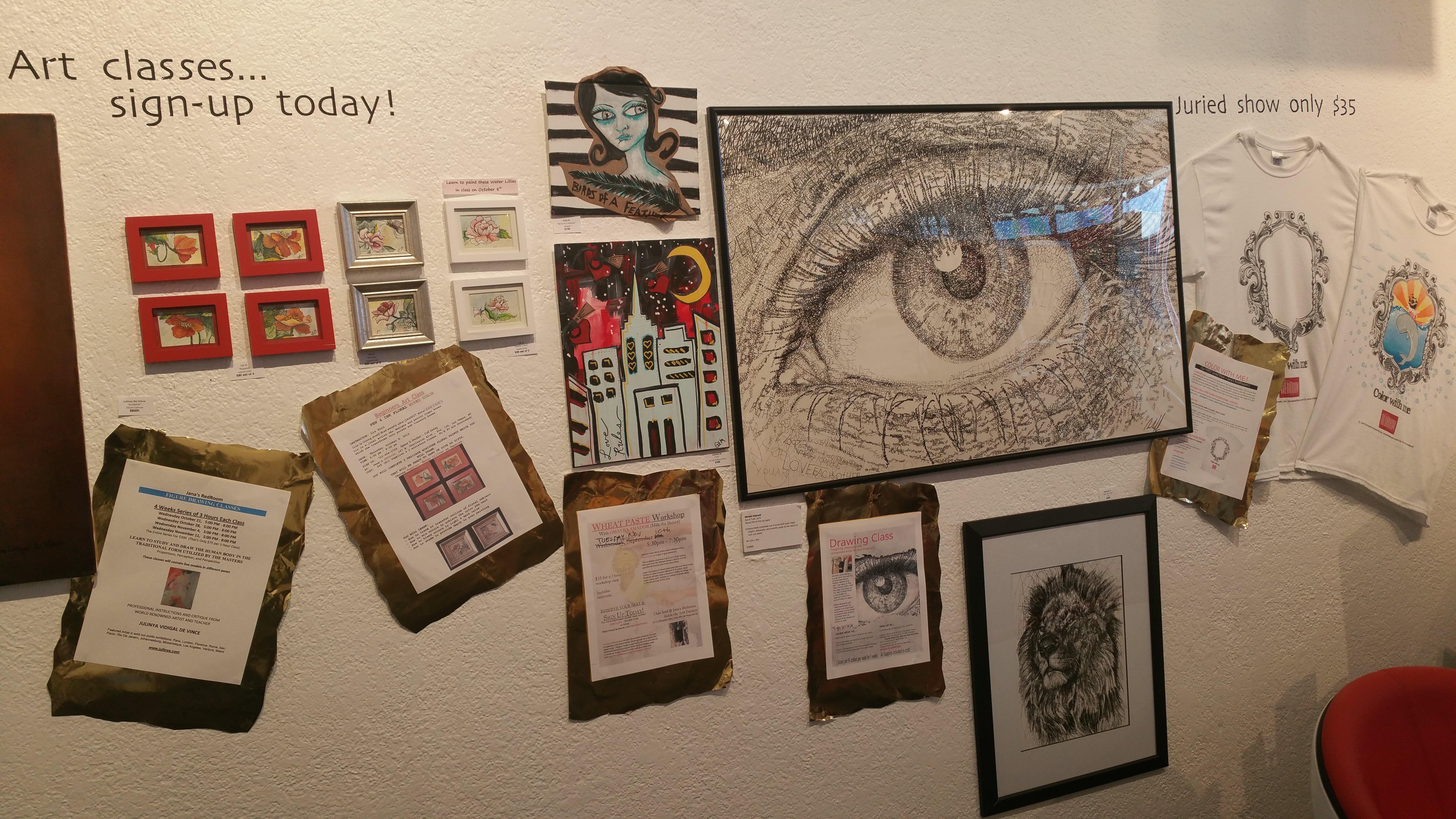 Art Classes/Juried Show