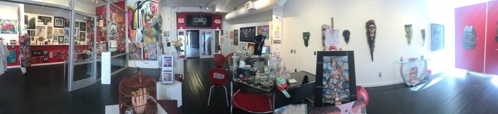 Panoramic view of Jana's RedRoom Grand